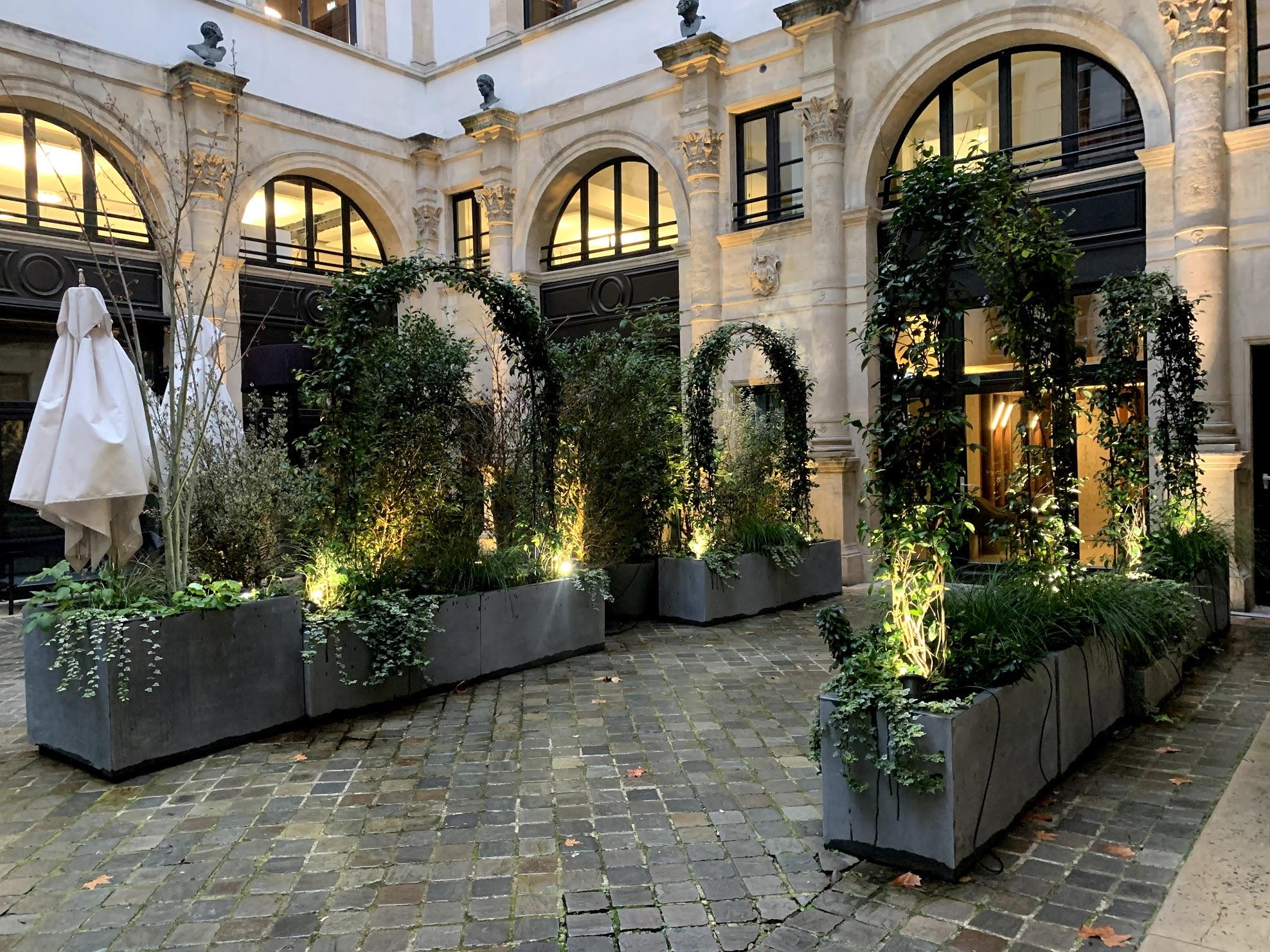 Paysagiste Paris Ile de France - Hôtel de Pourtalès